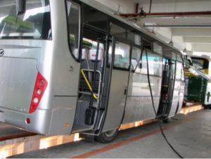 Диагностика автобусов на выезде