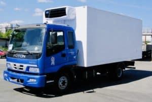 Диагностика грузовиков Фотон на выезде в Москве
